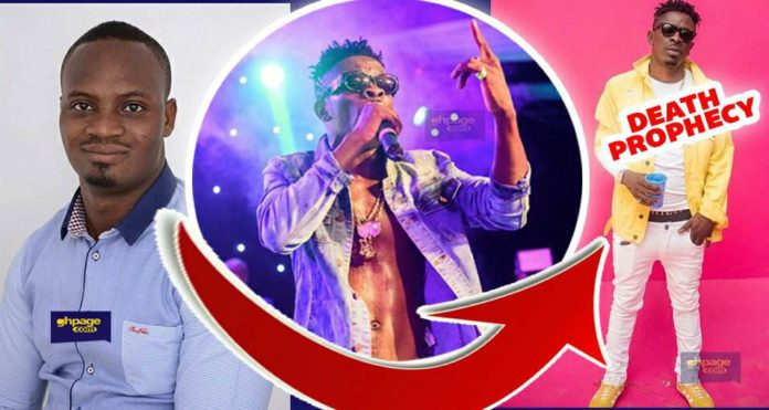 Shatta Wale will die in a car accident by December - Prophet Stephen