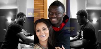 Sulley Muntari cooks for his wife in latest video