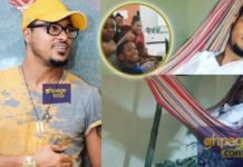 Van Vicker made to sleep outside after Croatia lost to France
