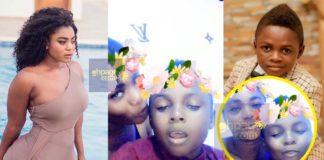 Video: Yaw Dabo and girlfriend Vivian Okyere 'chop hot love' to celebrate his birthday