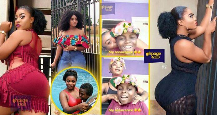 Yaw Dabo chops love with the girlfriend, Vivian Okyere in a new video