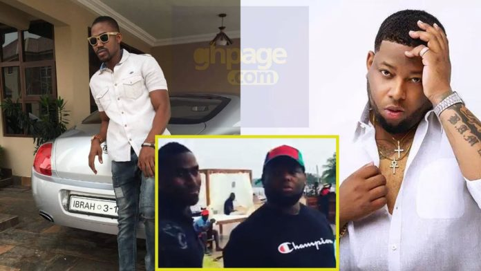 Ibrah wan chilling with D-Black inside Ada