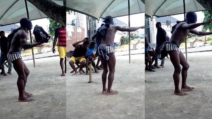 Student asked to dance for hours after been caught for stealing