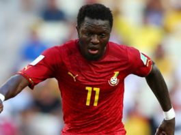 Sully Muntari declares his intention to play for the Black Stars again