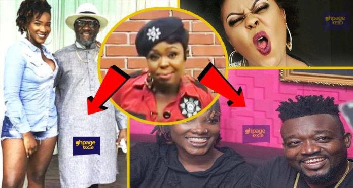 Popular Television personality, Valentina Nana Agyeiwaa aka Afia Schwar has waded into the ongoing fracas between father of late Ebony Reigns and Chief Executive Officer of RuffTown Records, Bullet.