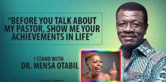 I stand with Otabil flyers: Afia Schwar attacks Dr. Mensah Otabil