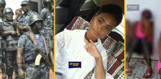 Aisha, the girl in the threesome sextape to be arrested by Dansoman Police Division