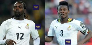 Asamoah Gyan and Prince Tagoe Battlë Off on Radio Over Captaincy