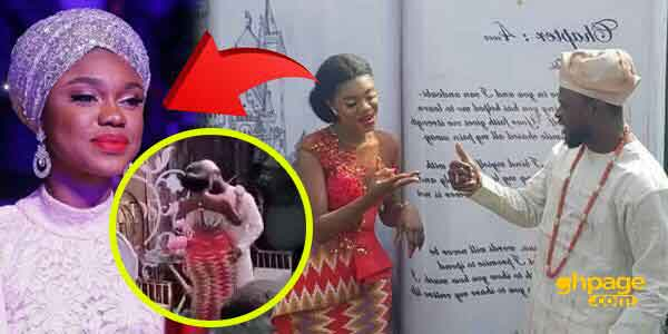 Becca's wedding: When Becca stepped onto the dance floor with Tobi