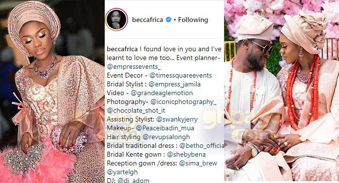 Becca finally reveals why he married Tobi out of the many suitors