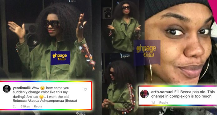 Becca takes her bleaching to the next level & fans can't take it anymore