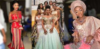 Check out all the dresses Becca wore at her traditional wedding