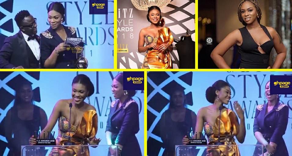 Glitz Awards 2018: Becca flaunts wedding ring in Shatta Michy's face
