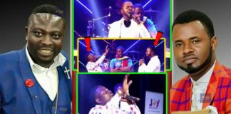 Ernest Opoku and Bro. Sammy reconcile on iYes stage
