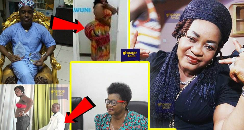 Christiana Awuni shares her experience when she went to Dr Obengfo