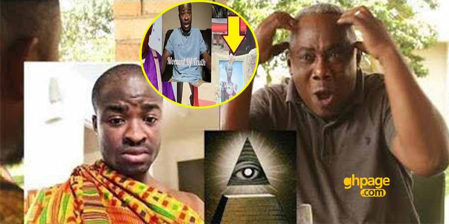 Video: Apostle John Prah replies Evang. Addai after he claimed the actor killed his mom for Illuminati rituals