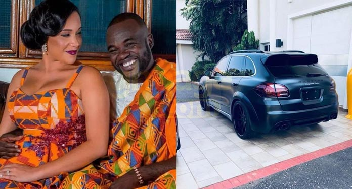 Fred Nuamah gifts his wife with a Porsche Magnum worth GHC977,260