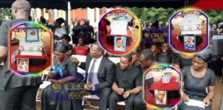 Photos from the funeral of SDA pastor's family who died in house fire