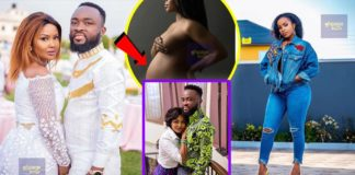 Benedicta Gafah allegedly chopping Mcbrown's hubby and even pregnant