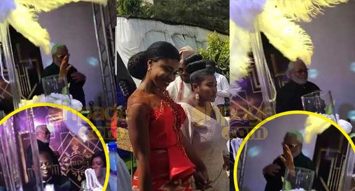 The Traditional wedding ceremony of Ghanaian afro diva, Rebecca Akosua Acheampong aka Becca came off yesterday.