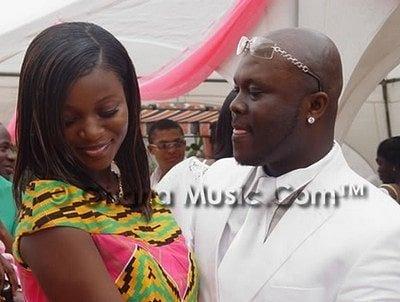 Jackie Appiah and husband Peter Agyemang
