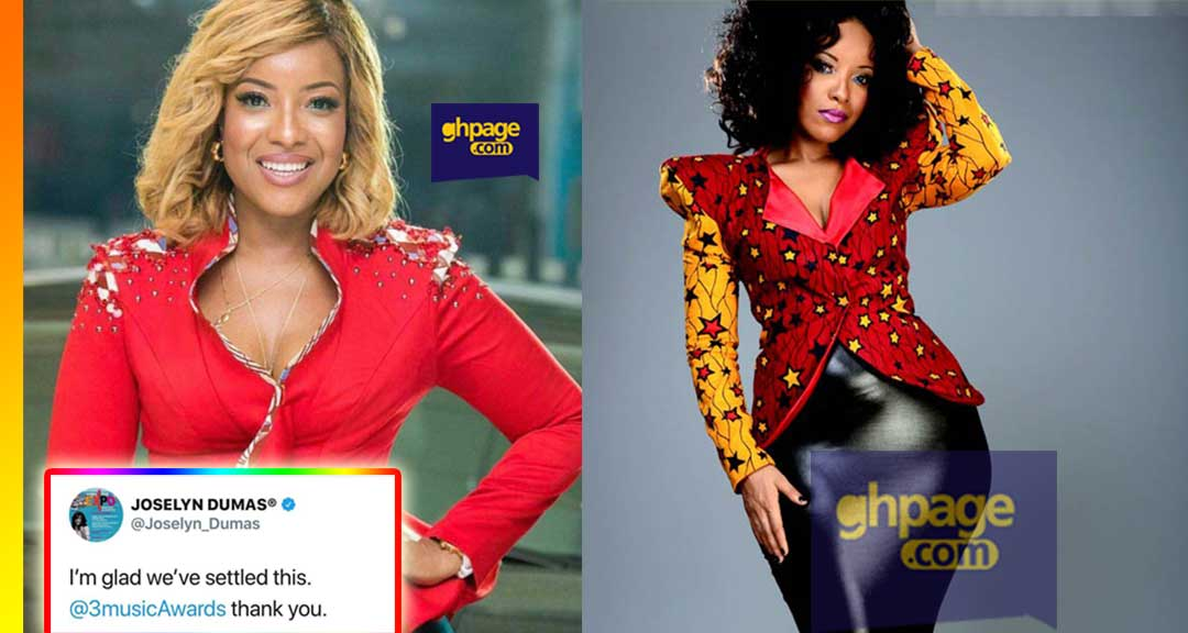 3Music finally pays Joselyn Dumas for hosting the 3Music Awards