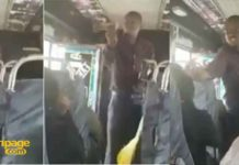 Kenyan Bus Preacher goes berserk after receiving 50p offering