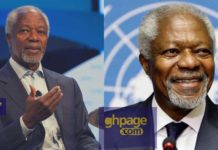 Reports have it Kofi Annan died from a protracted illness