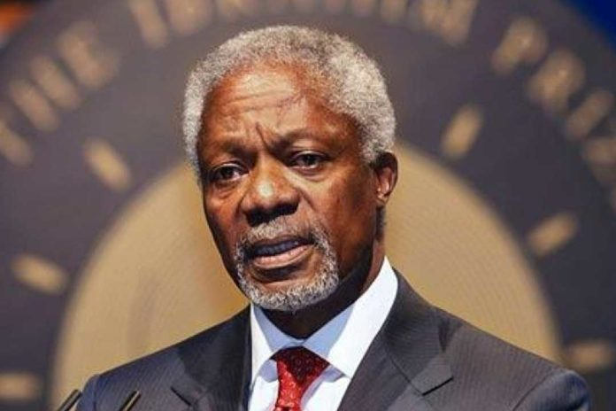Legalize weed in honour of the late Kofi Annan - Advocates