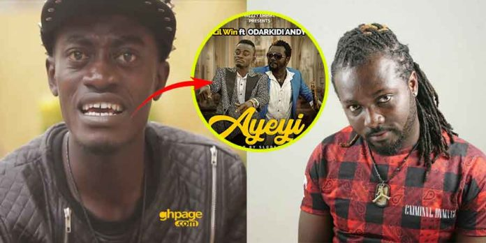 Kwadwo Nkansah Lilwin Odarkidi Andy 696x348 - Andy of mentor fame sues Lil Win for song theft