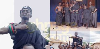 Lilwin finally enstooled as Nkosouhene shares pictures of his enstoolment