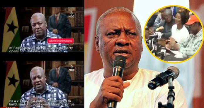 Fmr. President Mahama gives reasons for his comeback to lead the NDC