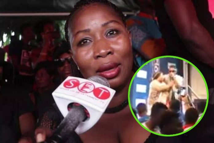 Medikal mum joins him on stage to perform