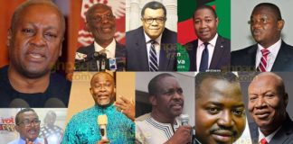NDC Flapbearership race: Meet the 9 other candidates to challenge Mahama