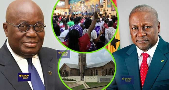 Fmr. Prez. Mahama advise Prez. Akuffo Addo on church taxes