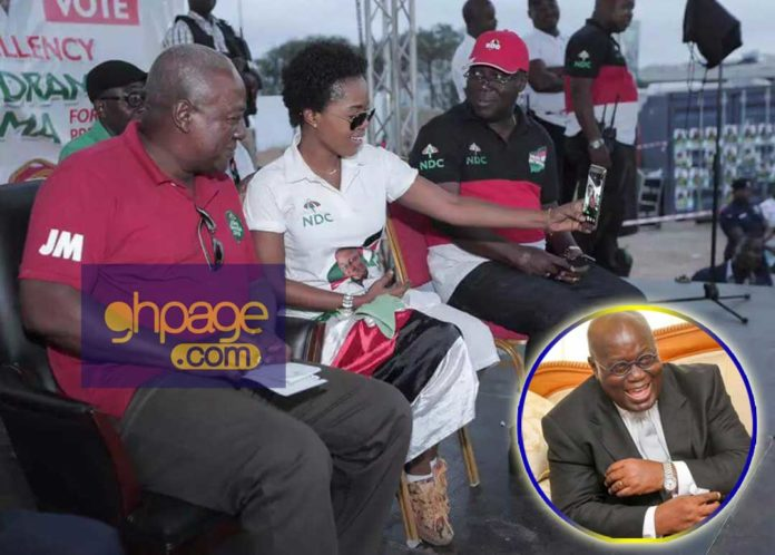 Step down for John Mahama to continue his good works - Mzbel tells Akufo-Addo