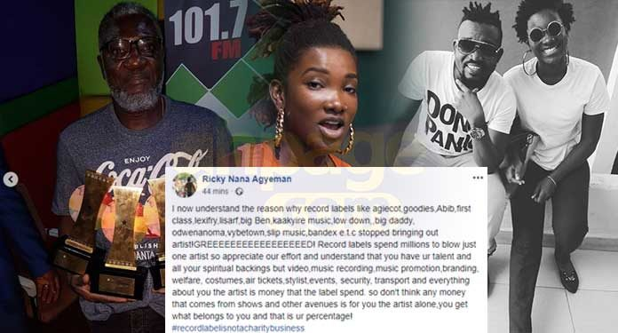 CEO of Rufftown Records, Ricky Nana Agyemang, popularly known as Bullet has spoken after allegations made against him by the late Ebony's father