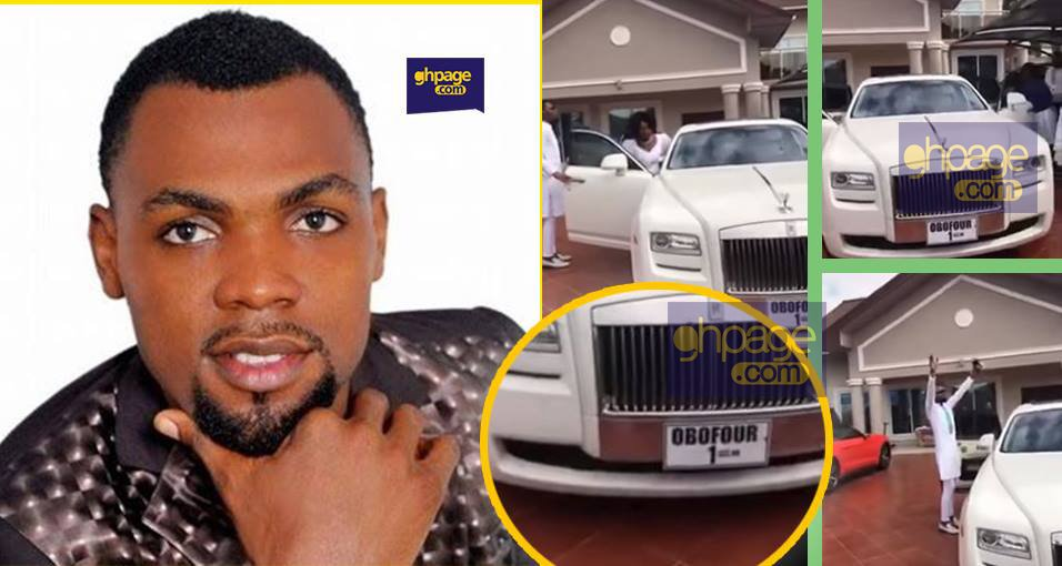 Obofour releases new Rolls Royce Phantom after dashing the Ghost to his wife