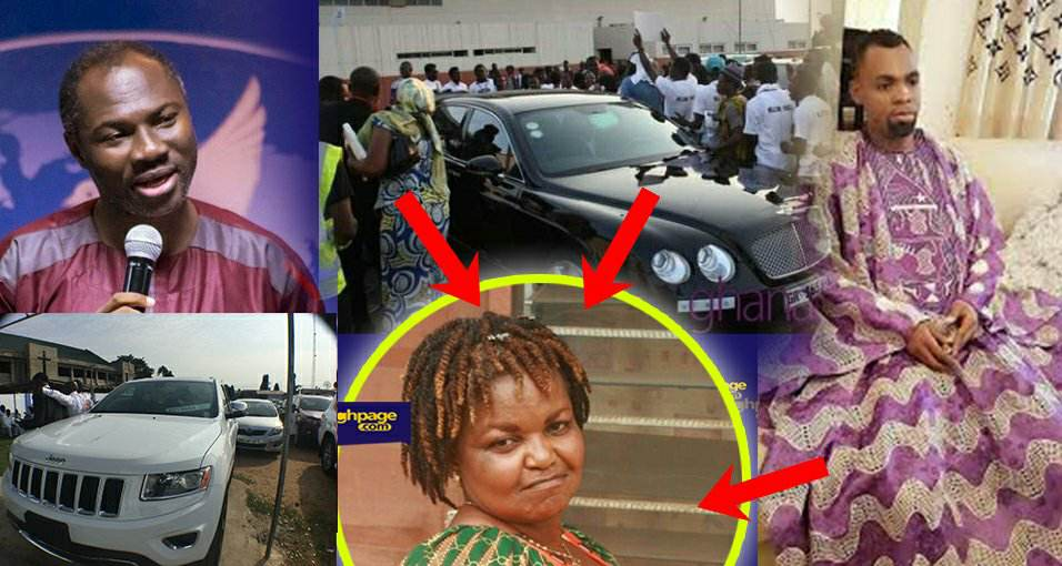 Obofuor gifts Badu Kobi a Jaguar, Auntie Bee & others over 15 cars