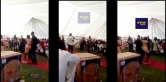 Pastor stops wedding over bridesmaid twerking skills