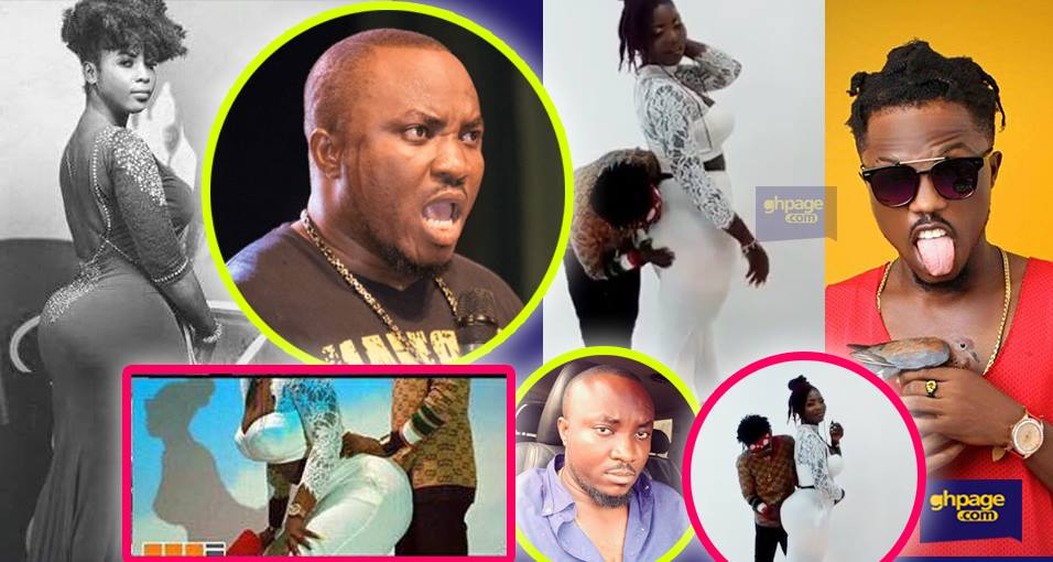 DKB mocks Richy Rymz for 'playing with Ms Forson's big behind