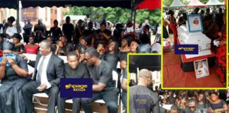 SDA Pastor who lost his family in a house fire weeps in sad tribute