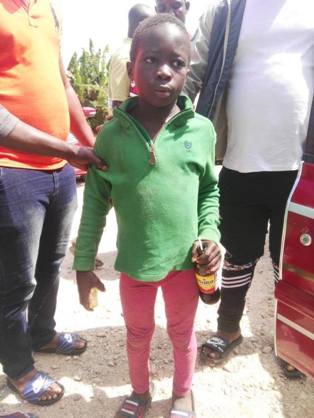 Photos: Man in Ellembele arrested for attempting to sell 14-year-old son to NDC's Mahama