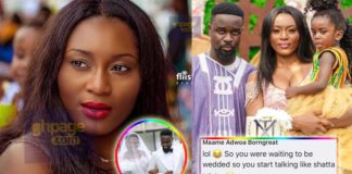 Ghanaians tear Sarkodie's wife into pieces for meddling in Menzgold-BoG issues