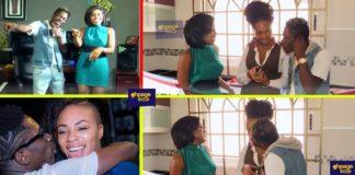 Shatta Wale and baby mama Shatta Michy kiss on live tv