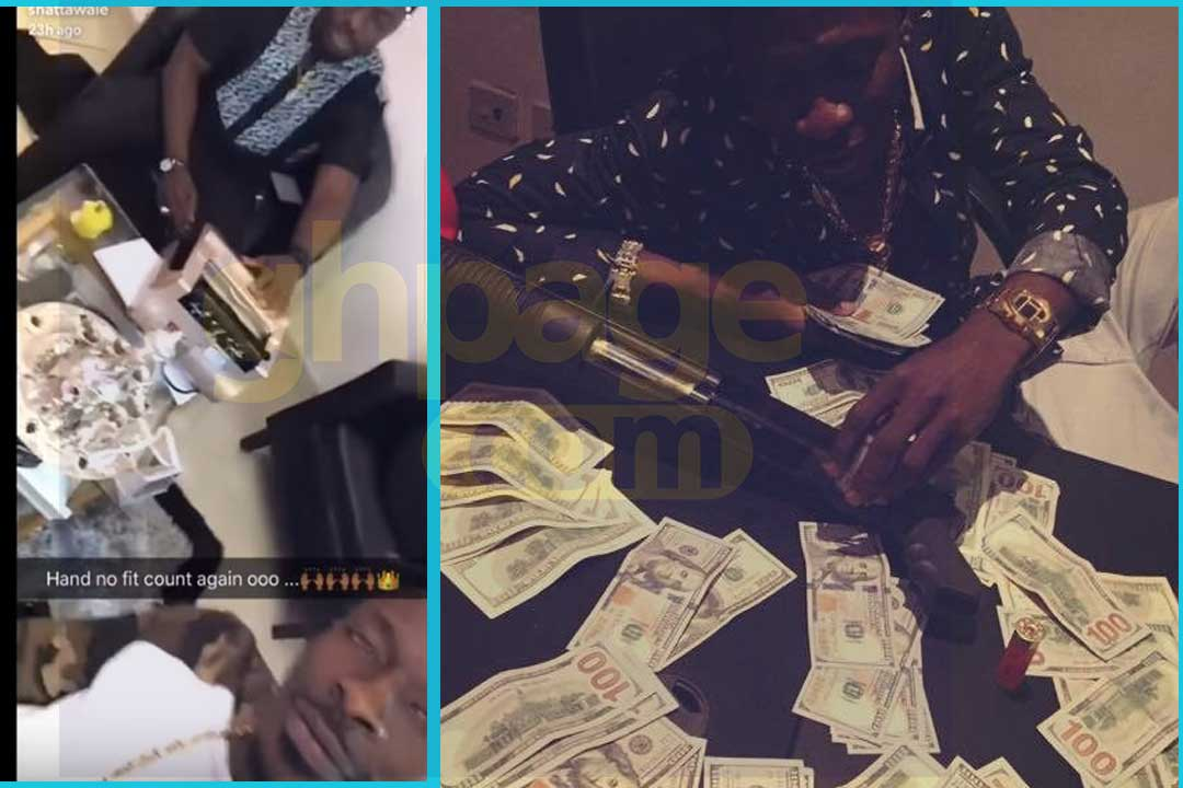 Shatta Wale buys a money counting machine