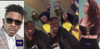 Shatta Wale and Michy spotted in the studio recording another hit song