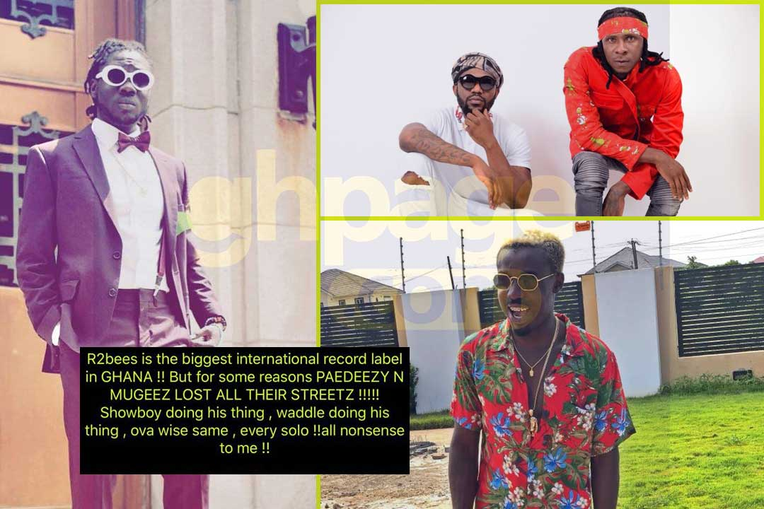 Image result for Showboy lashes out at R2bees and Criss Waddle