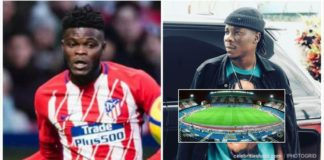 "Stonebwoy song ""Tomorrow"" played at Atletico Madrid sports stadium"