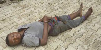 Kidnapper falls asleep at his victim's place after abusing Tramadol